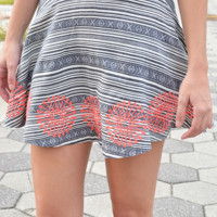 Ferris Wheel Ride Skirt: Multi