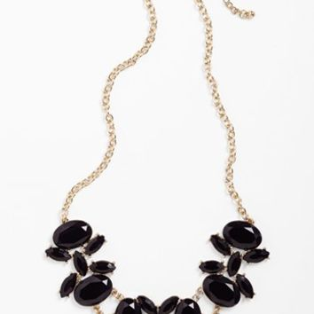 Stephan & Co. Stone Bib Necklace (Juniors)