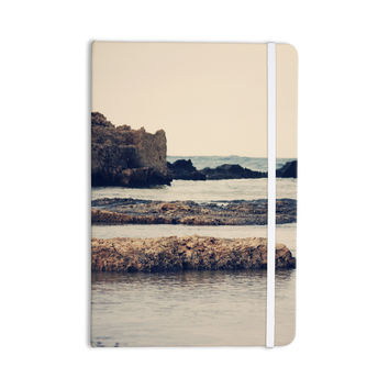 "Sylvia Coomes ""Mediterranean II"" Blue Tan Everything Notebook"