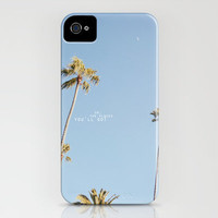 Palm Trees iPhone Case by Comesailaway | Society6