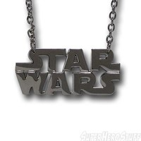 Star Wars Chrome Logo Necklace