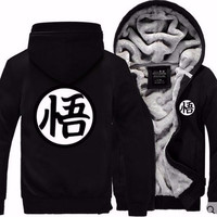 Black Dragon ball z Goku's  Hoodie