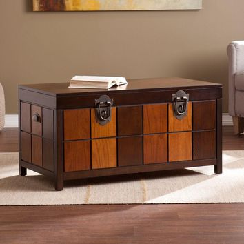 Hendrick Trunk Cocktail Table