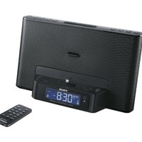 Sony ICFCS15IPN Lightning iPhone/iPod Clock Radio Speaker Dock (Black) (Discontinued by Manufacturer)