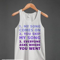 This My Jam-Unisex White Tank