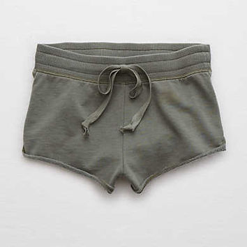 Aerie Hot Hot Hot Short, Olive Fun