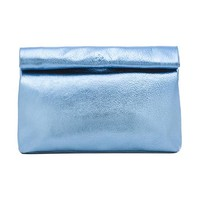 Marie Turnor Lunch Clutch in Blue
