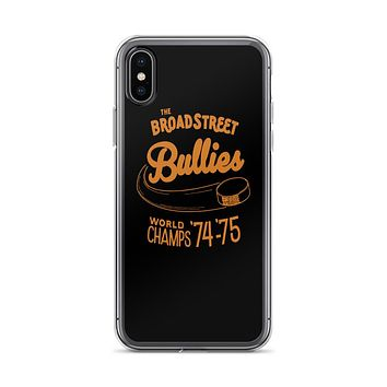 Retro Broad Street Bullies iPhone X/XS/Max Case