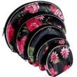 Evelots Set Of 5 Silk Cosmetic Bags - For Accessories - Travel Storage