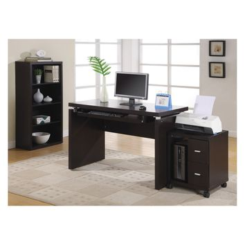 Monarch Cappuccino 48 in. Computer Desk | Hayneedle