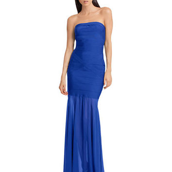 Js Collections Strapless Bandage Gown