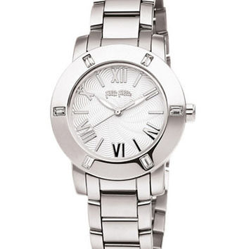 Folli Follie Ladies Donatella Stainless Steel Crystal Watch