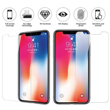 Tempered Glass Screen Protector for Iphone 6 6s 7 8 Plus X Soft Film for Iphone 7 8 Plus X Camera Film For Iphone XS max XR film