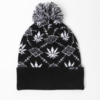 HUF Nordic Beanie - Mens Hats - Black - One