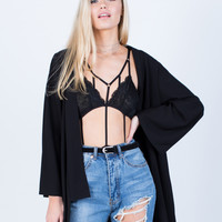 Lacey Caged Bodysuit