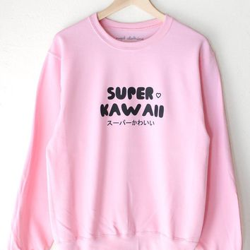 Super Kawaii Oversized Sweatshirt
