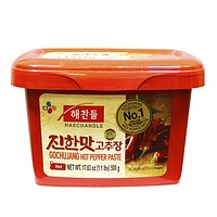 Haechandle - Gochujang Hot Pepper Paste, Made in Korea, 1.1 lbs