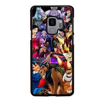 VILLAINS of DISNEY PRINCESS Samsung Galaxy S3 S4 S5 S6 S7 S8 S9 Edge Plus Note 3 4 5 8 Case