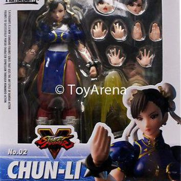 S.H. Figuarts Street Fighter V (5) Chun Li Action Figure Bandai US Free Shipping