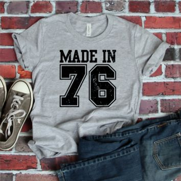 CUSTOMIZE WITH ANY YEAR... Made In