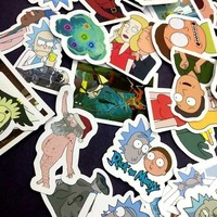 49 PCS Rick and Morty Stickers