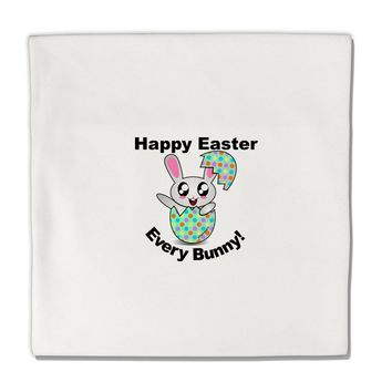"Happy Easter Every Bunny Micro Fleece 14""x14"" Pillow Sham by TooLoud"