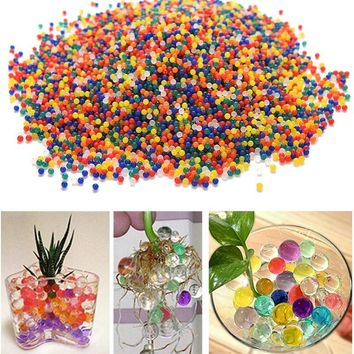 Crystal Soil for Home Decor Hydrogel Gel Polymer Water Beads Flower/Wedding/Decoration Maison Growing Water Balls 10000pcs