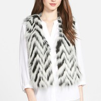 Women's MICHAEL Michael Kors Faux Fur Crop Vest,