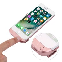 For iPhone 6 7 7 Plus Rose Battery Case External Power Pack Charging Charger