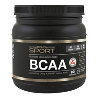 California Gold Nutrition, SPORT, AjiPure, Pure BCAA, Branched Chain Amino Acids, Gluten-Free, 16 oz (454 g)