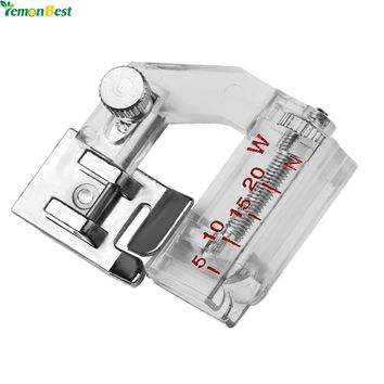 Adjustable Bias Binder Presser Foot Feet Binding Feet Sewing Machine Attachment Accessory For Low Shank Singer Janome Brother