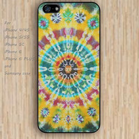iPhone 5s 6 case colorful hot yellow rainbow mandala phone case iphone case,ipod case,samsung galaxy case available plastic rubber case waterproof B324