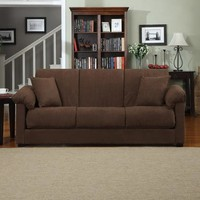 Montero Microfiber Convert-A-Couch Sofa Bed, Multiple Colors - Walmart.com