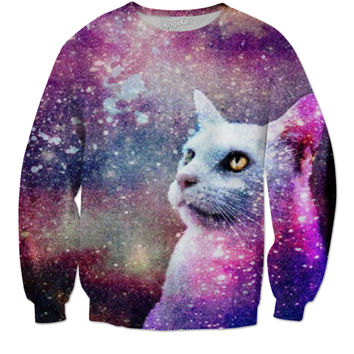 Cat Galaxy Sweater