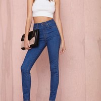 Nasty Gal Denim – The Kink Skinny in Le Freak
