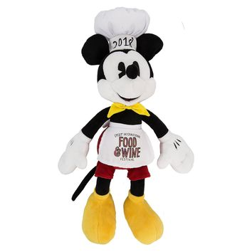 Disney 2018 Food and Wine International Mickey Chef Plush New with Tags