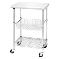 Seville Stainless Steel Chef's Work Table