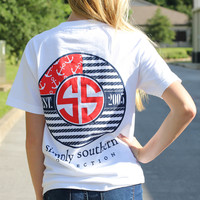 Simply Southern Tee - Flag