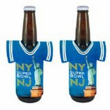 NFL - 2014 Super Bowl XLVIII 48 New York New Jersey NFL Football Bottle Jersey Holder Koozie