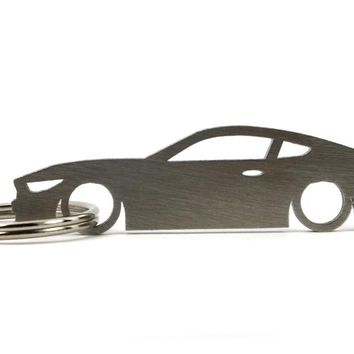 Ford Mustang (6th Gen) Silhouette Keychain