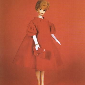 Bubble Cut Barbie Print, Ken Doll, Skipper Doll, Balenciaga Inspired, Girls Wall Decor