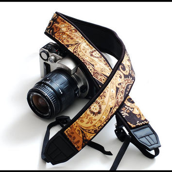 Custom Camera Strap on Etsy  that is now by sizzlestrapz on Etsy