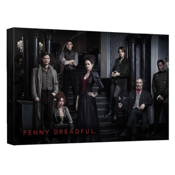 Penny Dreadful - Stair Cast Canvas Wall Art With Back Board