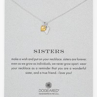 Women's Dogeared 'Reminder - Sisters' Pendant Necklace - Sisters