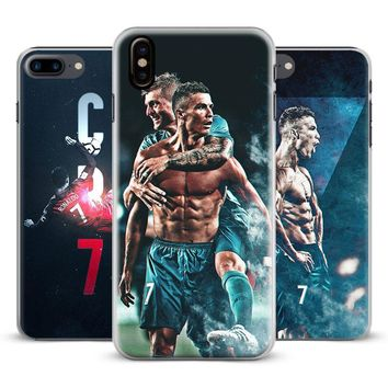 Cristiano Ronaldo Coque Fashion Phone Case Cover Shell For Apple iPhone 4 4s 5 5s Se 6 6Plus 6s 6sPlus 7 Plus 8 8Plus X