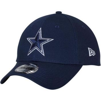 Dallas Cowboys New Era 9FORTY NFL The League Adjustable Strap Hat Cap - 940