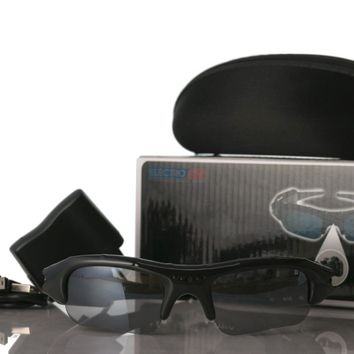DVR Video Recorder Sunglasses w/ MicroSD Extended Storage Rechargeable