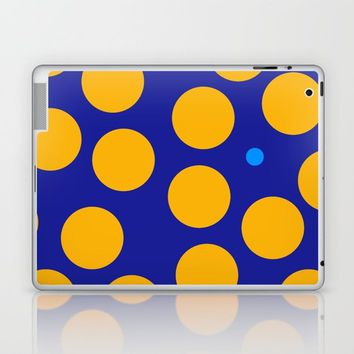 yellow dots Laptop & iPad Skin by netzauge