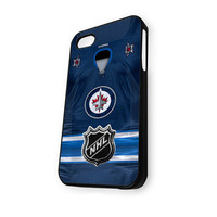 Winnipeg Jets NHL Logo Jersey iPhone 5C Case