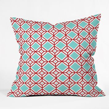 Caroline Okun Petit Diamant Throw Pillow